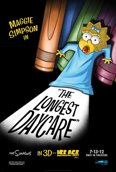 Maggie Simpson Un largo día de guardería 720p HD