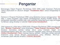 Program Revitalisasi SMK Tahun 2020 - 2024
