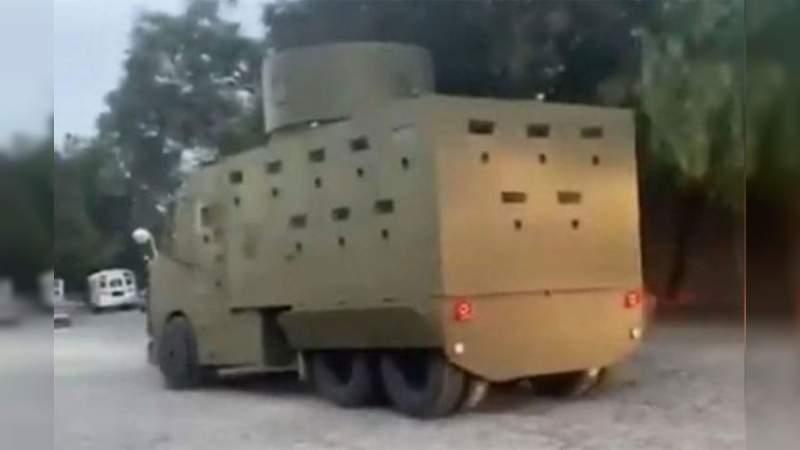 Se registran balaceras entre el CJNG y Carteles Unidos en El Aguaje, Aguililla, Michoacán Sicarios en blindados fueron vistos