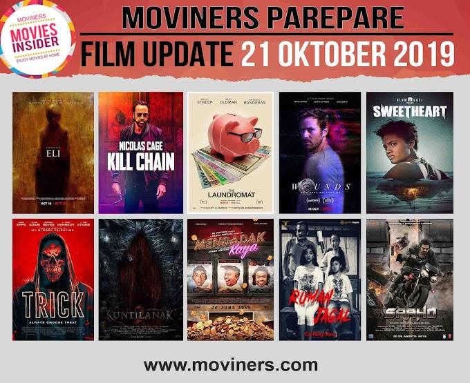 FILM UPDATE 21 OKTOBER 2019