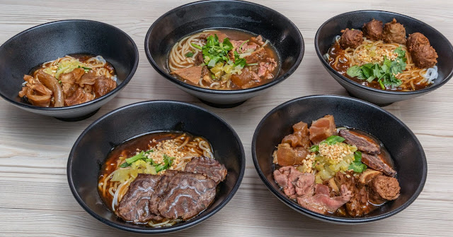 different types of beef noodles from blanco court beef noodles.