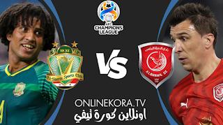 مشاهدة مباراة الشرطة العراقي والدحيل قطري القادمة بث مباشر اليوم 27-04-2021 في دوري أبطال آسيا