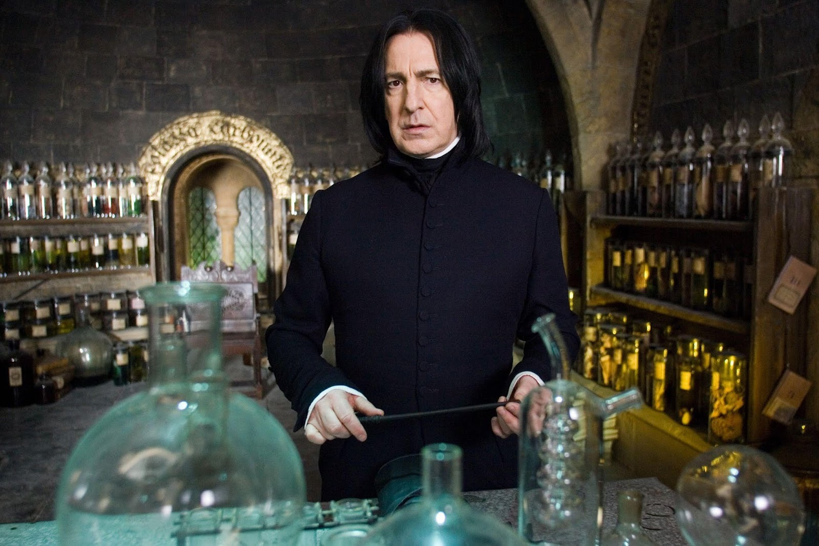 Finding Eloquence: Severus Snape: My Hottest Literary Take