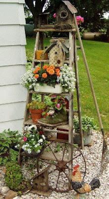 23 ideias simples para jardins pequenos e cantinhos sem uso