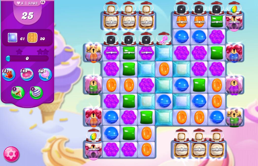 Candy Crush Saga level 5902