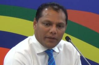 Sports Minister Dayasiri Jayasekera