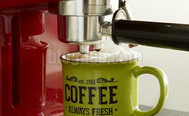 Mesin kopi sendiri dirumah