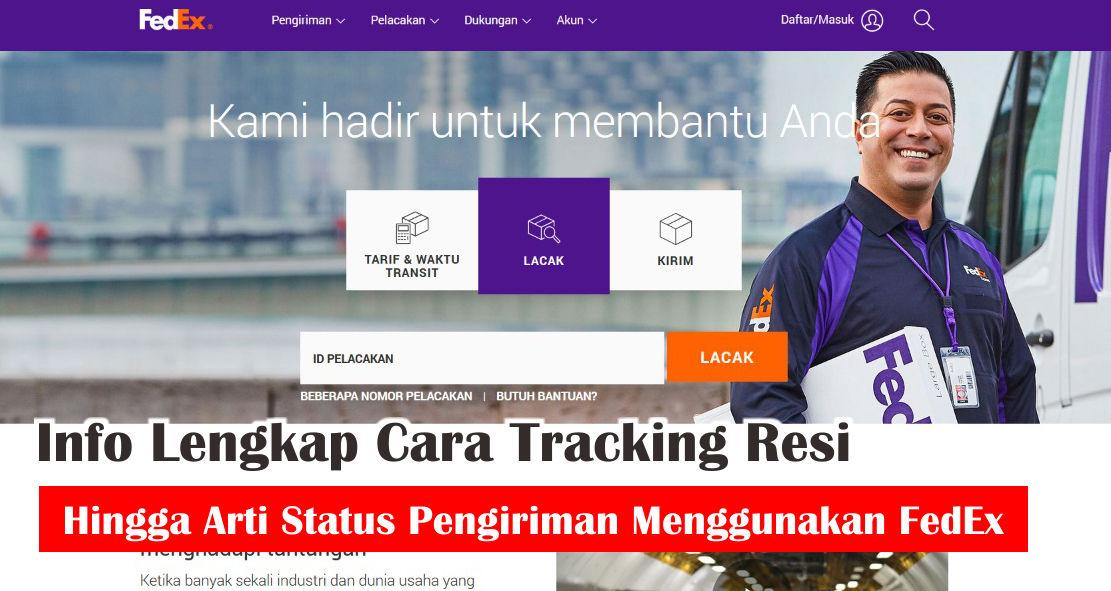 Arti Status Pengiriman Menggunakan FedEx