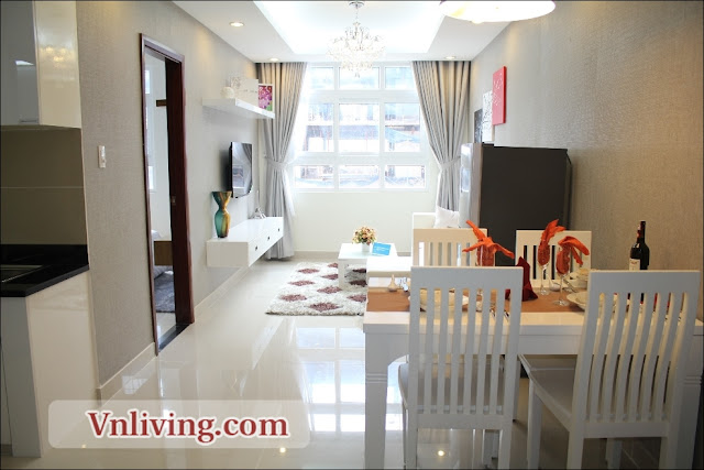 Masteri Thao Dien 1 bedrooms fully furniture for rent in Tower 2