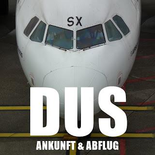 Flughafen Düsseldorf Ankunft