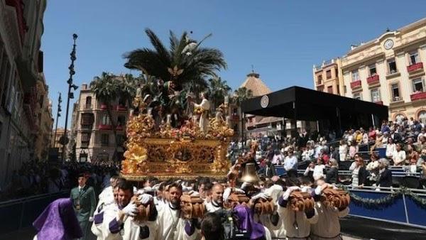 Horarios e Itinerarios Procesión Magna 'Camino de la Gloria'. Málaga 25 de Septiembre del 2021