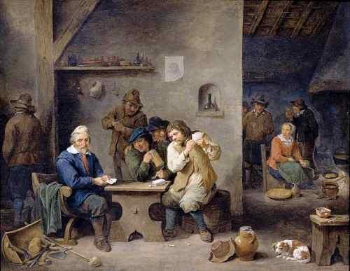david teniers giocatori 1670