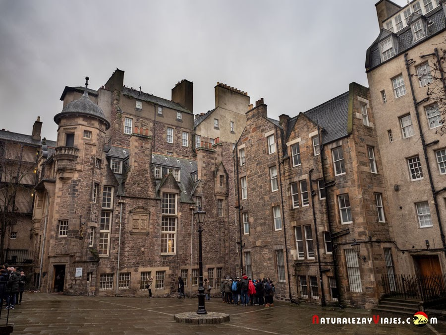 Lady Stair's Close en Edimburgo