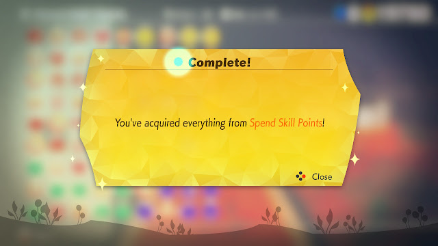 Ring Fit Adventure completion acquired everything from Spend Skill Points tree