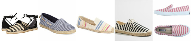 Circus by Sam Edelman Lilly • $25 (reg $45) Nautica Women's Rudder Espadrille Flats • Nautica • $30 (reg $40) - 30% off 2, 40% off 3 with code GREAT, ends 6/19 Women's Soludos 'Classic Stripe' Espadrille Slip-On, Size 5 M - Beige • Soludos • $33 (reg $55) Factory striped lace-up espadrilles • J.Crew Factory • $35 (reg $50) SPERRY TOP-SIDER Sneakers • Sperry • $50 (reg $67)