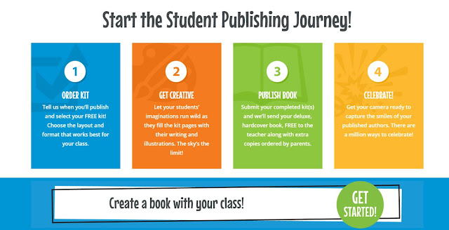 Celebrate your writers by publishing books through Student Treasures