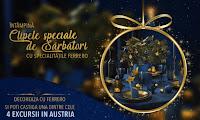 Castiga 4 excursii de vis in Austria - concurs - online - vacanta - city - break - munte - iarna - gratis - castiga.net - ferrero