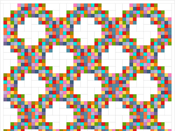 Twirling at the Disco Quilt {FREE PATTERN}