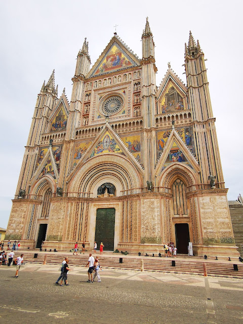 facciata gotica duomo Orvieto