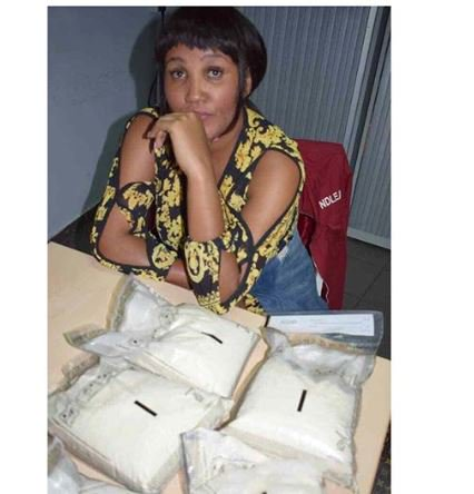 BUSTED!! Kenyan Model Arrested With 6.5kg Of Cocaine In Nigeria