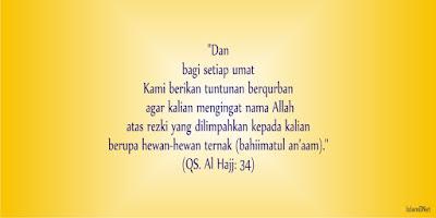 Berqurban dalam Islam memang sudah dicontohkan dan perintahnya juga sudah jelas ada dalam Hadist Tentang Qurban Kambing Untuk 1 Keluarga