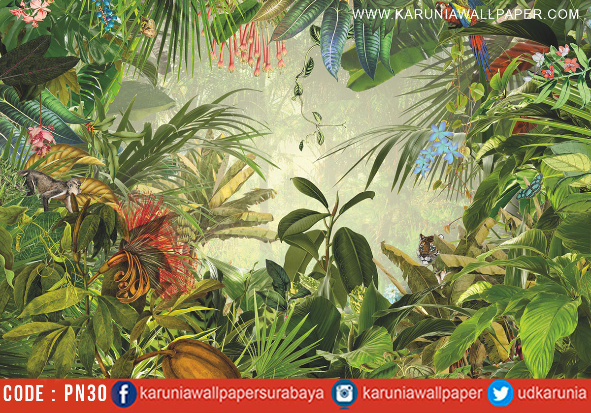 jual wallpaper natural