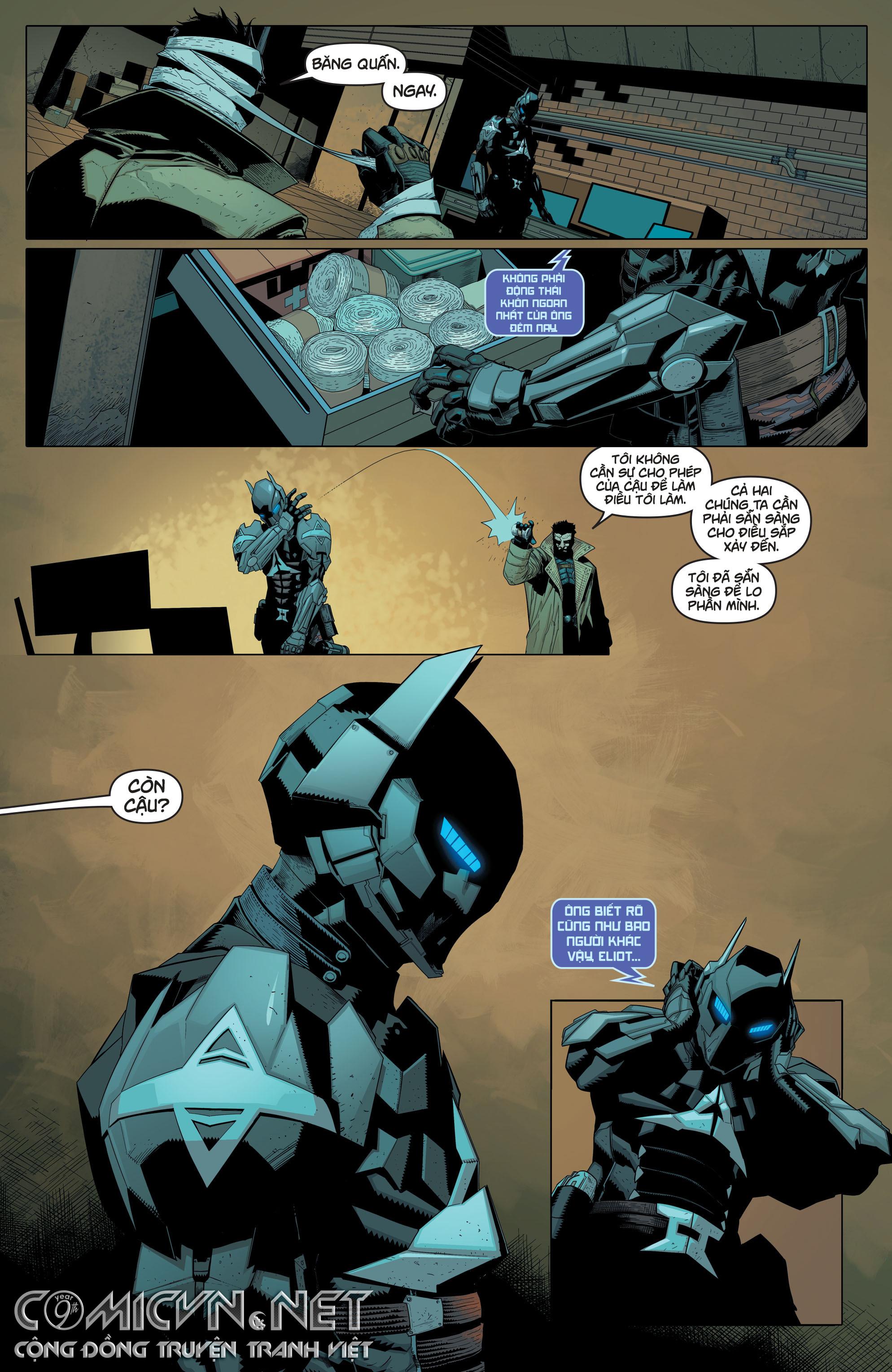 Batman: Arkham Knight - Genesis | Hiệp Sĩ Arkham - Khởi Nguyên