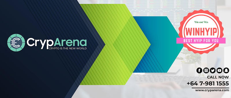 CrypArena review - MLM Project - From 1.8% daily - Manual