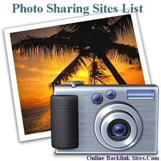 Photo Sharing Sites List With High Page Rank