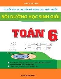 Tuyển Tập 13 Chuyên Đề Nâng Cao Phát Triển Bồi Dưỡng Học Sinh Giỏi Toán 6 - Đoàn Thích