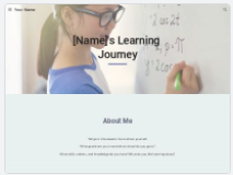 Pre-made Google Sites Templates to Help You Build Your Classroom Website
