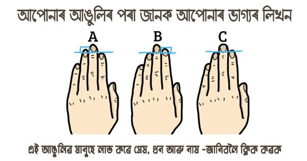 Finger length Indication