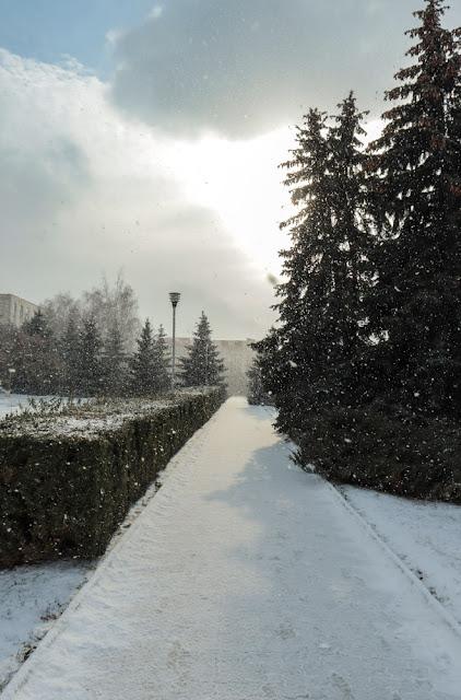 Зима в Дубоссарах
