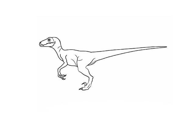 como dibujar dinosaurios facil