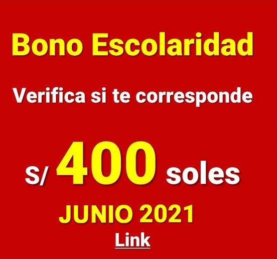 Nuevo Bono Escolaridad 2021 Para Trabajadores Del Área Pública