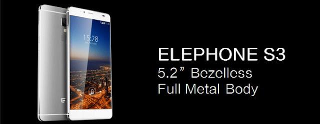 Elephone S3, Smartphone Mirip iPhone 5 Fingerprint Sensor RAM 3GB