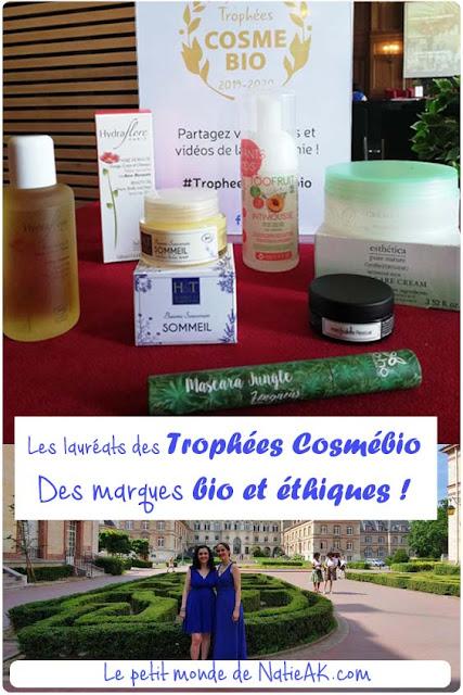 Trophée cosmétique bio et éthiques