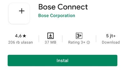 aplikasi bluetooth speaker dengan aplikasi bose connect