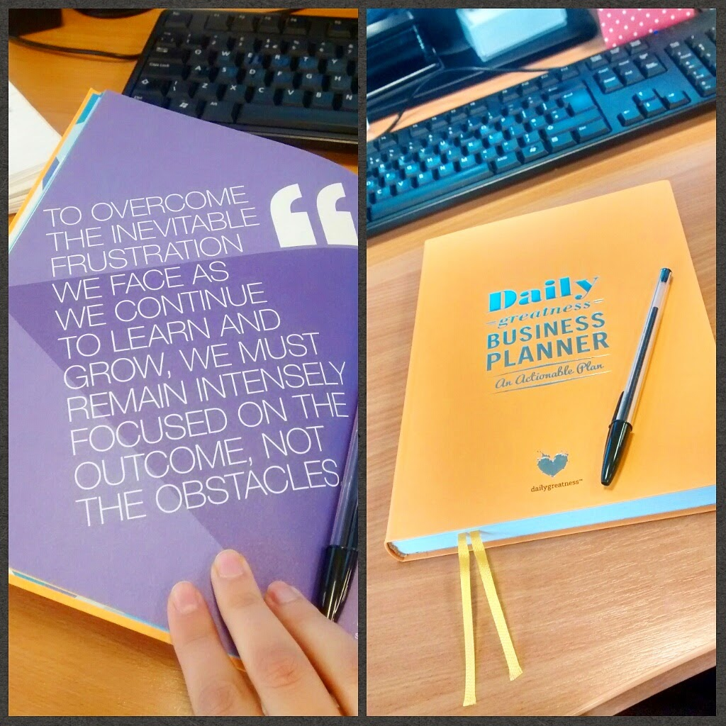 blogging with the daily greatness business planner miss wheezy