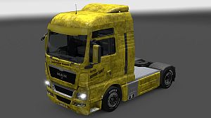 Trotters Independent Traders skin for MAN TGX