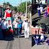 Desfile de encuentro de Peregrinos de León Viejo.