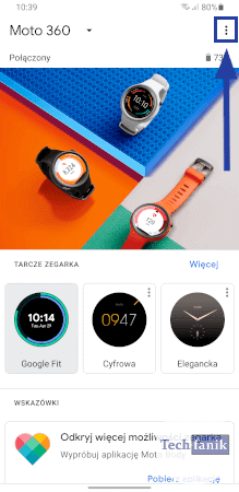 Wear OS by Google Ekran główny