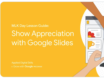 Here Is How Students Can Use Google Slides to Show Appreciation for A Special Individual