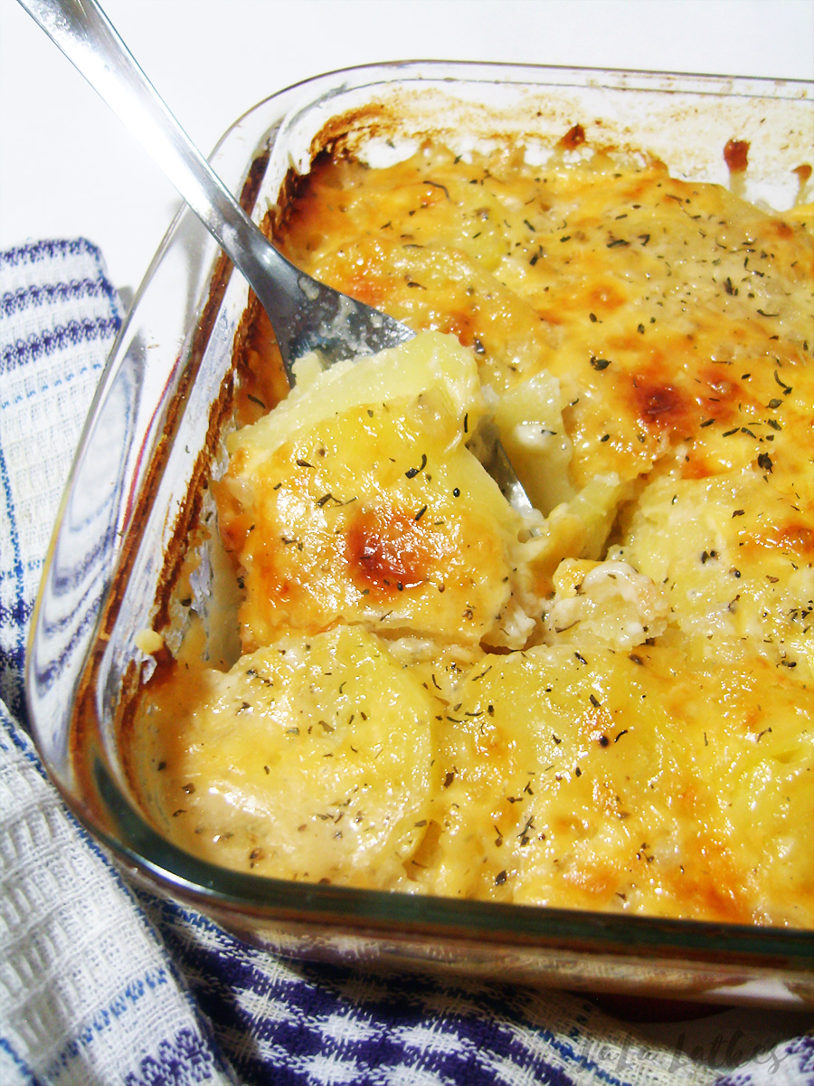 Картофельный гратен