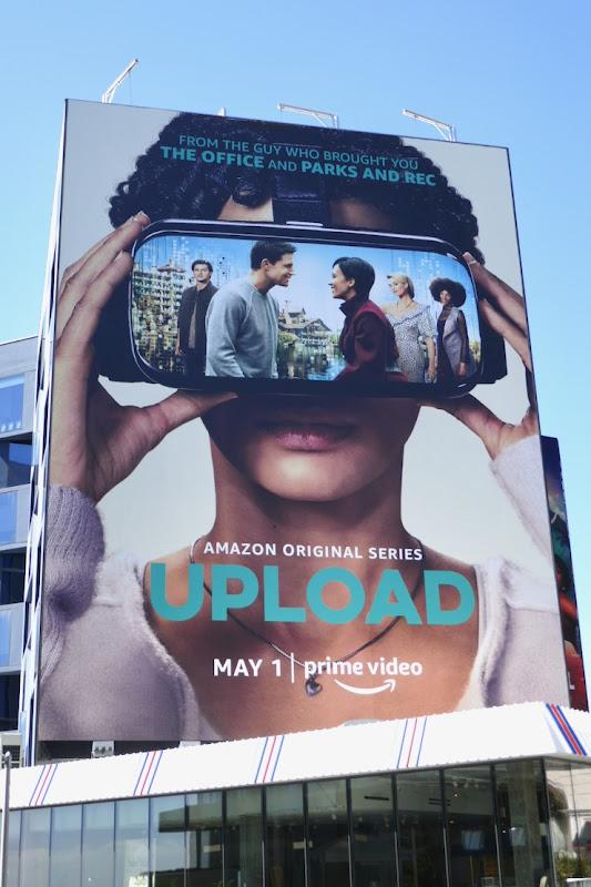 Giant Upload series premiere billboard