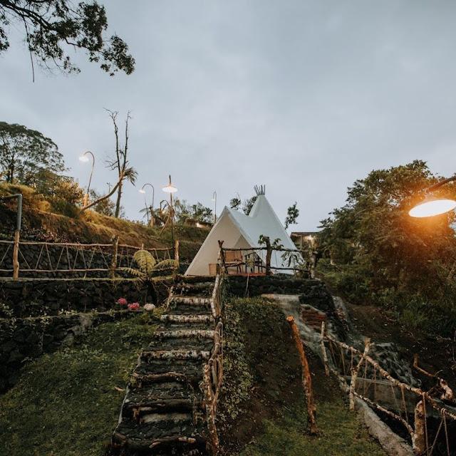 Penginapan Alam Caldera Camping Bali