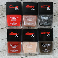 Allure & Butter London Arm Candy Nail Lacquer Collection review swatches