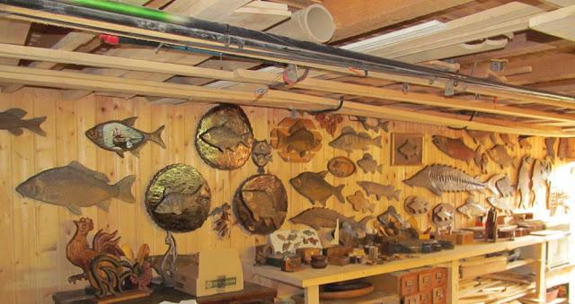 стена в домашней мастерской