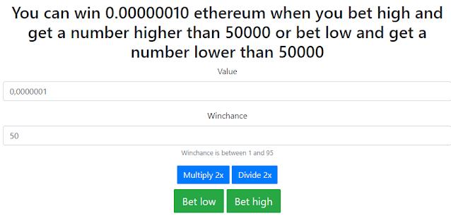 multiplicar ethereum con free-ethereum