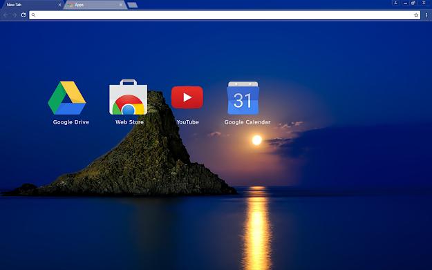 Blue Italy Chrome Theme